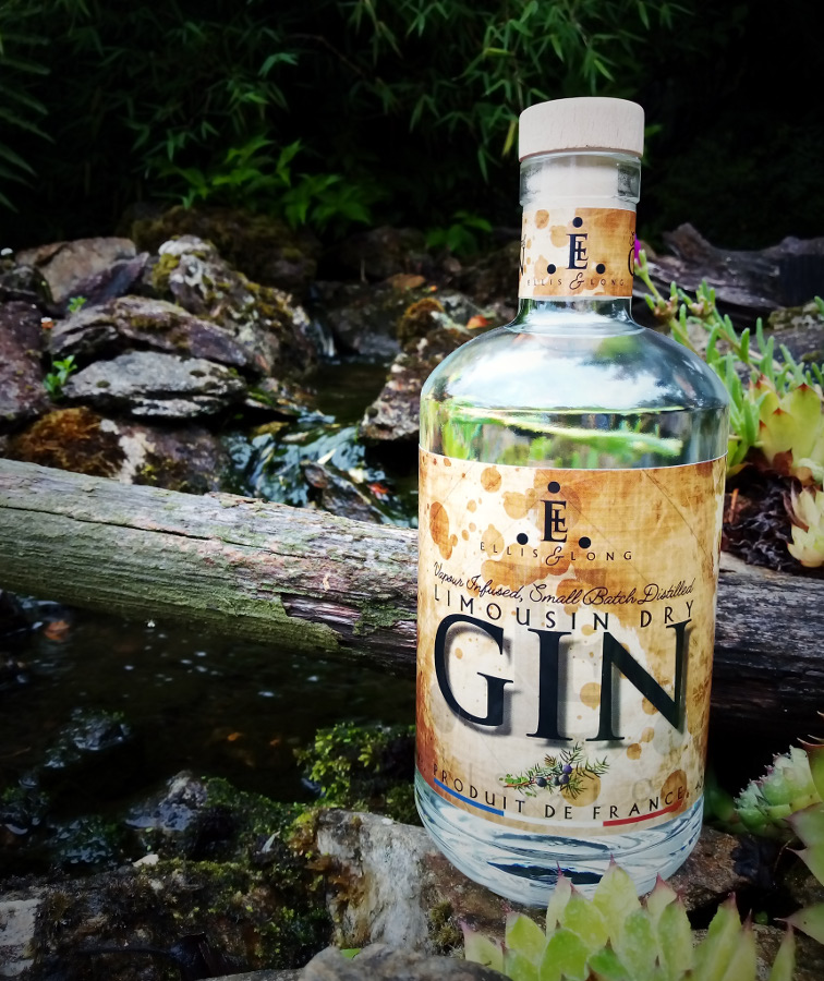 Limousin Dry Gin, French Gin by Ellis & Long